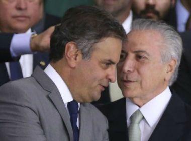 Temer convida Aécio para jantar no Jaburu; intenção foi manter PSDB na base do governo