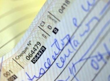 Número de cheques devolvidos no Brasil alcança menor índice desde setembro de 2014