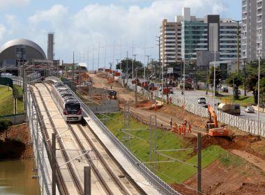 Metrô chega a Mussurunga em viagem-teste; até setembro 4 estações serão inauguradas