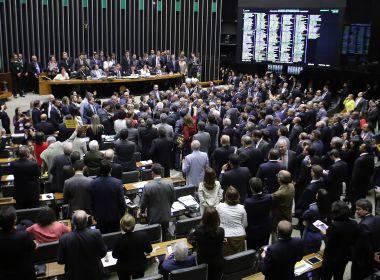 Votação de denúncia por corrupção passiva tem início na Câmara