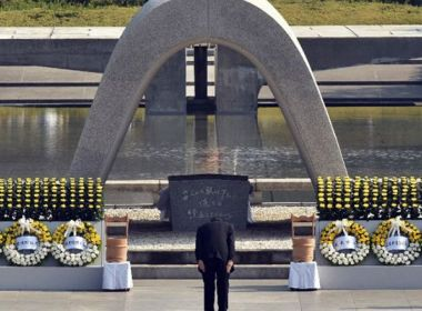Japão marca 72 anos da Bomba de Hiroshima, mas não assina tratado anti-nuclear