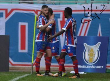 Bahia vence o São Paulo e se afasta da zona de rebaixamento da Série A