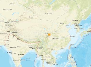 China é atingida por tremor de 6.5 magnitude e deixa pelo menos quatro mortos