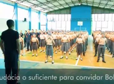 Alunos de colégio militar no AM chamam Bolsonaro de 'salvação da nação' em vídeo