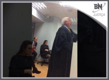 Destaque em Justiça: TJ pede ação contra advogado que disse não haver juízes honestos na Bahia