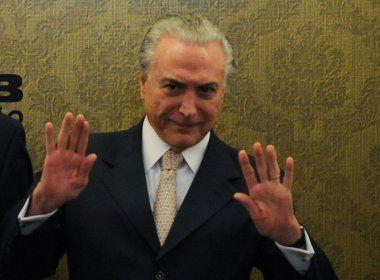 Fachin suspende inquérito contra Temer até o fim do mandato