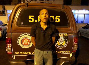 Polícia prende segundo envolvido em queima de ônibus; suspeito tem 19 anos