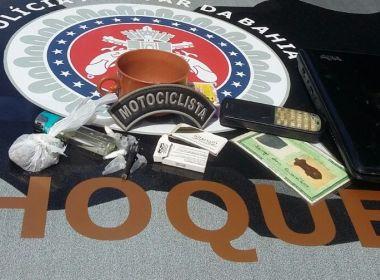 Polícia prende quatro suspeitos de tráfico de drogas no Engenho Velho da Federação