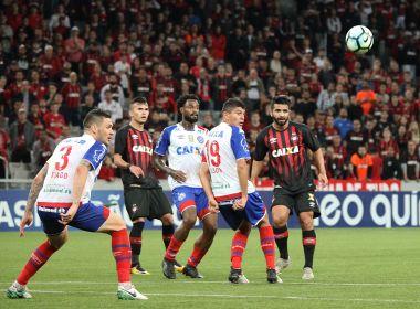 Bahia abre o placar, mas toma a virada e é goleado pelo Atlético-PR em Curitiba
