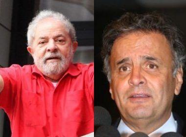 Lula é inocentado de calúnia por chamar Aécio de 'filhinho de papai'