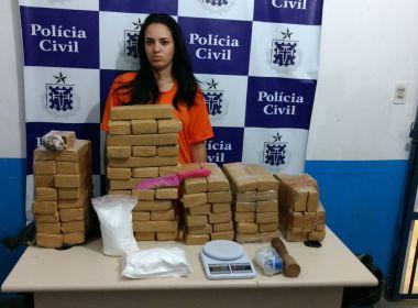 Feira de Santana: Polícia encontra 33kg de maconha escondidos embaixo de berço