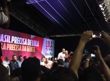 Na Fonte Nova, Lula participa de lançamento de livro sobre condenações da Lava Jato