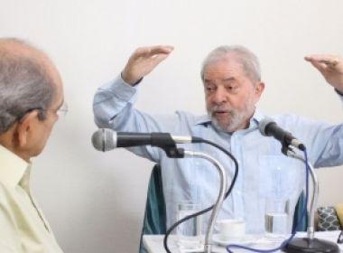 Lula reclama que força-tarefa da Lava Jato se transformou em 'partido político'