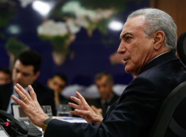 Temer se reúne com presidente do Paraguai para discutir segurança na fronteira e Mercosul