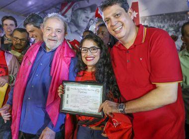 Em Sergipe, Lula admite que 'talvez' tenha cometido erros no governo