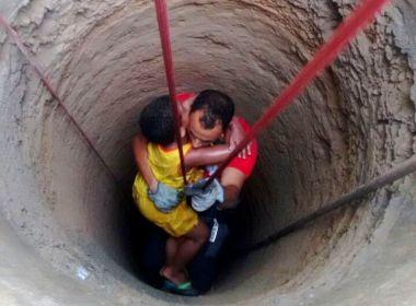 SAJ: Menino de 6 anos cai em cisterna de 25 metros; bombeiros resgatam criança
