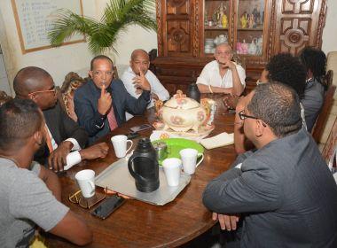 Comissão de Reparação da Câmara visita terreiro invadido no Curuzu