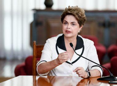 Dilma critica privatização da Eletrobras e diz que fornecimento de energia está ameaçado