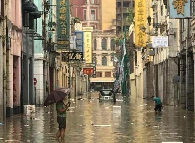 Tufão Hato deixa 3 mortos e 2 desaparecidos em Macau; Hong Kong tem inundações