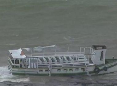 Astramab estima que 129 pessoas estavam a bordo em lancha que naufragou
