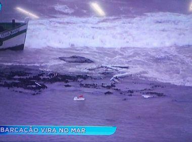 Chega a Salvador primeira lancha com alguns sobreviventes de acidente em Mar Grande