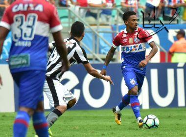 Com 'lei do ex', Bahia é derrotado pelo Botafogo nos minutos finais da partida