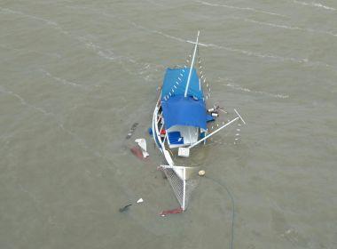Graer confirma que não há vítimas em acidente com escuna na Baía de Todos os Santos