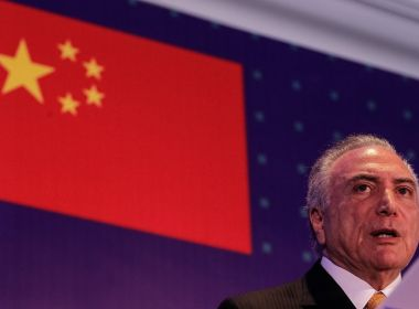Michel Temer desiste de antecipar retorno ao Brasil e mantém agenda na China