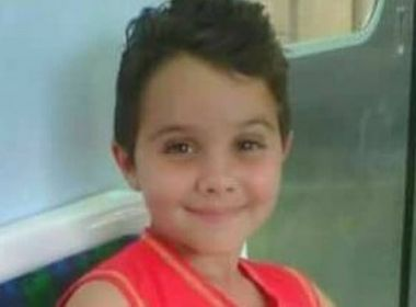 Menino de 8 anos baleado na cabeça tem morte cerebral constatada nesta segunda