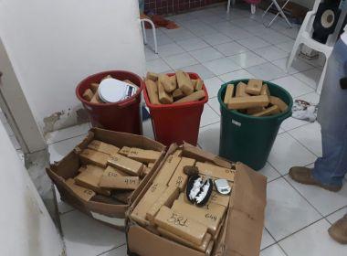 Força-tarefa da SSP apreende 150 quilos de maconha em operação na Boca do Rio