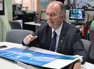Leão irá a São Paulo, Brasília e Portugal para discutir Ponte Salvador-Itaparica
