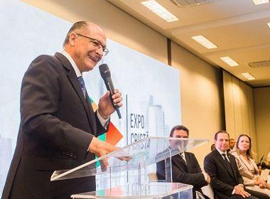 Eleições 2018: Alckmin avalia eventual disputa de segundo turno contra Bolsonaro