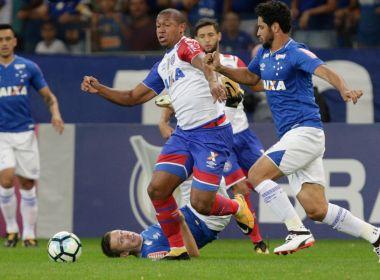 Jean pega pênalti, mas Bahia perde para o Cruzeiro e continua perto do Z4