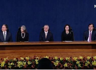 Nova PGR destaca 'harmonia entre os poderes' como 'requisito para o equilíbrio da nação'