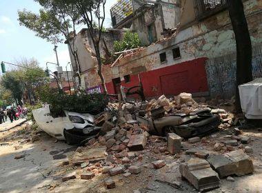 Terremoto de magnitude 7,1 atinge o México e deixa pelo menos 50 mortos