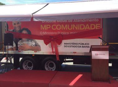 Ministério Público lança programa de atendimento móvel à população baiana