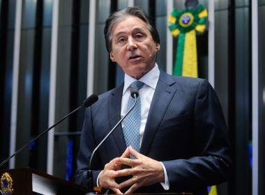 Eunício acredita que Senado aprovará reforma política a tempo de valer para 2018