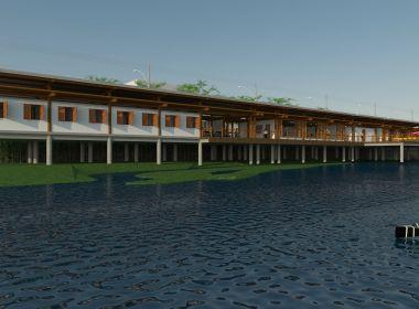 Rui assina ordem de serviço para construção de centro de canoagem em Ubaitaba