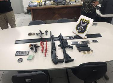 Polícias da BA e SE apreendem fuzil AR15 com quadrilha responsável por homicídios