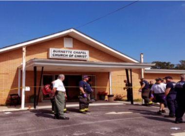 Um morre e seis ficam feridos durante ataque em igreja no Tennessee