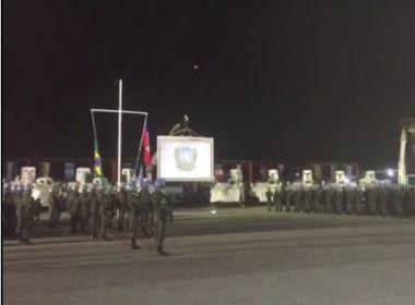 Militares brasileiros que integraram missão de paz no Haiti começam retorno