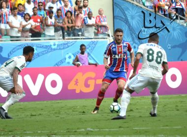 Bahia decepciona a torcida na Arena Fonte Nova e empata com o Coritiba