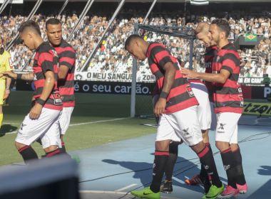 Em jogo emocionante, Vitória vence o Botafogo e se afasta do Z-4