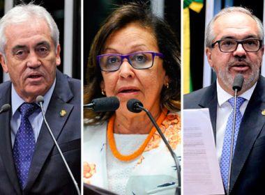 Senadores baianos votaram pelo adiamento de decisão sobre afastamento de Aécio