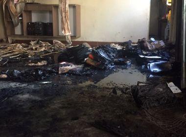 Segurança morre depois de atear fogo em creche no interior de Minas Gerais