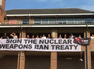 Campanha internacional contra uso de armas nucleares recebe Prêmio Nobel da Paz 2017