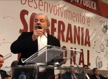 Lula diz que está 'lascado' com processos e quer pedido de desculpa de Moro
