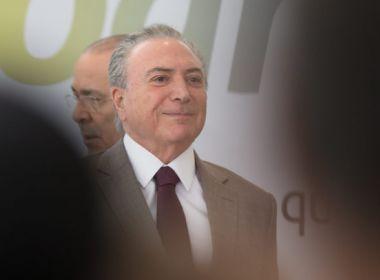 Temer quer pelo menos 280 votos contra a denúncia para continuar tratando de reformas