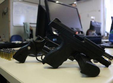 Pistola usada em tentativa de assalto no Corredor da Vitória pertence a policial afastado