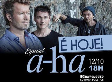 É HOJE! Curta às 18h uma hora especial com a banda A-Ha